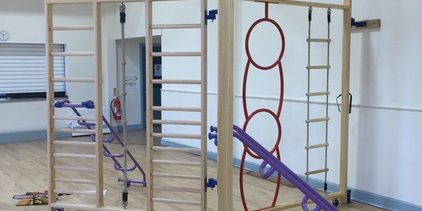 Supporting image for Climbing Frame Fit Out in School Hall