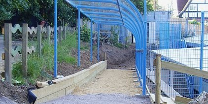 Supporting image for Bespoke Canopies for School in Reading