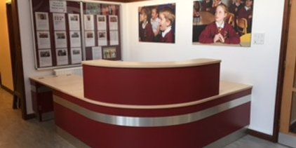 Supporting image for Bespoke Reception Desk Fit Out