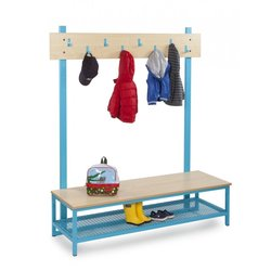 Supporting image for Candy Colours Cloakroom - Top with 8 Hooks