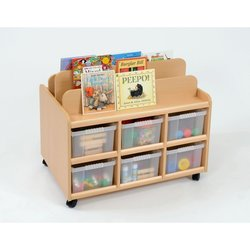 Supporting image for Book Display Unit with Deep Trays