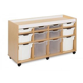 Supporting image for Candy Colours - 12  Tray Variety Storage Unit