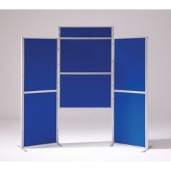Supporting image for Lightweight 6 Panel & Header Pole & Panel Display System
