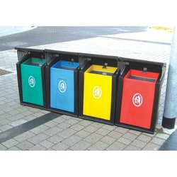 Supporting image for Strongbox Recycling Bin System - Set of 4 Bins