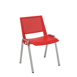 Supporting image for Tirev Visitor Chair - Plastic Seat & Back