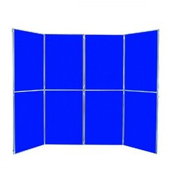 Supporting image for Lightweight 8 Panel & Header Fast Fold Display System