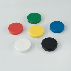 Supporting image for Coloured Magnets - Pack of 10