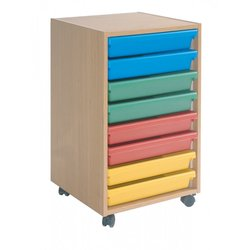 Supporting image for 8 Tray A3 Paper Storage Unit