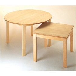 Supporting image for Chunki Tables - Junior Sqaure