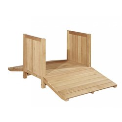 Supporting image for Outdoor Wooden Bridge