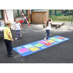 Supporting image for Outdoor Hopscotch Mat