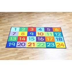Supporting image for Rainbow Numbers 1-24 Carpet
