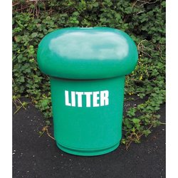 Supporting image for Mushroom Litter Bin without Spots