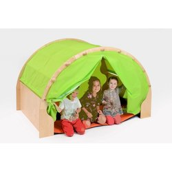 Supporting image for Wooden Play Module with Curtains