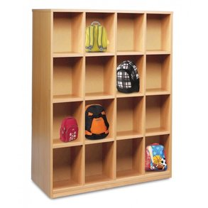 Supporting image for 16 Compartment Bag Storage Unit