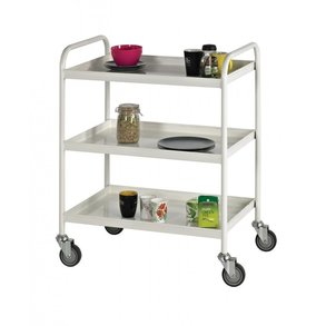 Supporting image for Karam 3 Shelf Tray Trolley