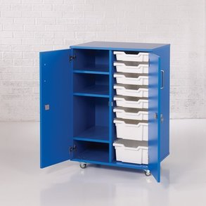 Supporting image for ColorStore Double Column Tray and Shelf Cabinet