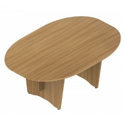 Supporting image for Colorado Executive Tables - Double D Ended