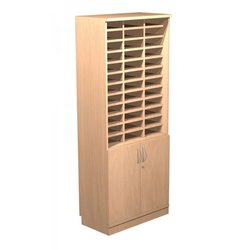 Supporting image for Alpine Essentials 36 Hole Pigeon Unit with Cupboard - W800