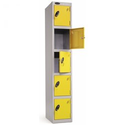 Supporting image for Lockers - Five Compartment