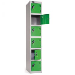 Supporting image for Lockers - Six Compartment