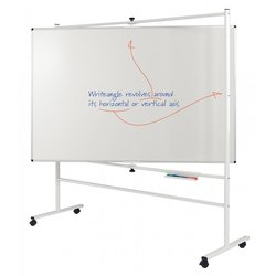 Supporting image for Premium Revolving Whiteboards - Non-Magnetic