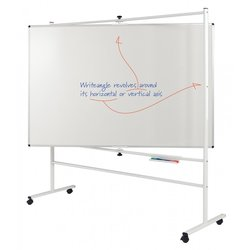 Supporting image for Premium Revolving Whiteboards - Magnetic