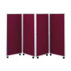 Supporting image for Concertina Mobile Room Dividers - H1200