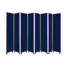Supporting image for Concertina Mobile Room Dividers - H1500