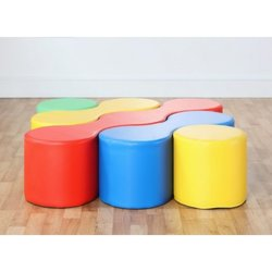 Supporting image for Modular Linking Soft Seating - Nesting Set