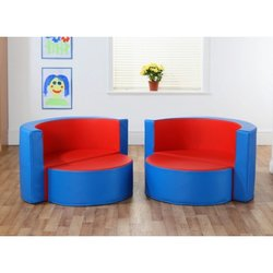 Supporting image for Modular Linking Soft Seating - Hideaway Seat