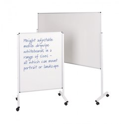 Supporting image for Height Adjustable Mobile Whiteboards