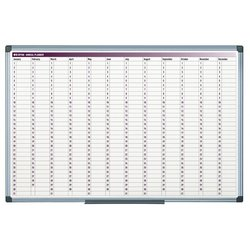 Supporting image for Annual Aluminium Day Planner Colour Print - 900 X 600