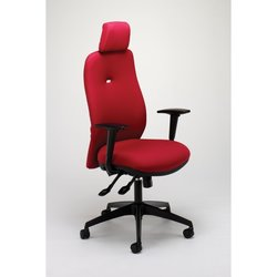 Supporting image for Arrow Executive Chair with Height Adjustable Arms and Headrest