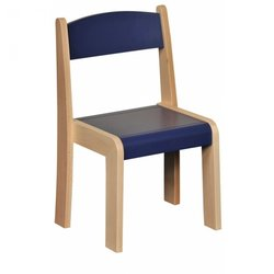 Supporting image for Blue Nursery Chairs - Pack of 4