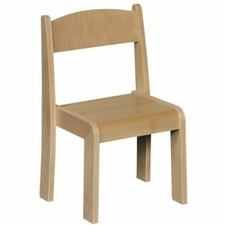 Supporting image for Beech Nursery Chairs - Pack of 4