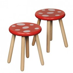 Supporting image for Beech Toad Stools (Set of 2)