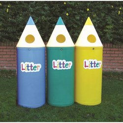 Supporting image for Pencil Bin with 'Litter' Lettering