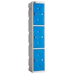 Supporting image for Interior Plastic Locker - 3 Doors - H1800