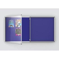 Supporting image for Double Door Premium Tamperproof Noticeboards