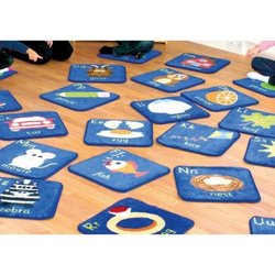 Supporting image for Alphabet Mini Placement Rugs - Set of 26