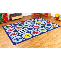 Supporting image for 'Under The Sea' Rectangular Carpet