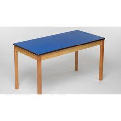 Supporting image for Blue Rectangular Nursery Table