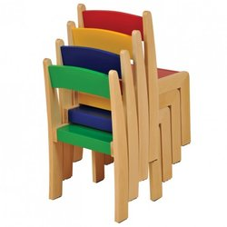 Supporting image for Assorted Nursery Chairs - Pack of 4