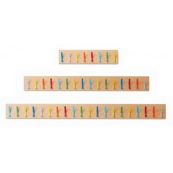 Supporting image for Candy Colours - Cloakroom Hooks & Rails