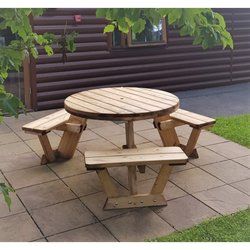Supporting image for Circular 6 or 9 Seater Table