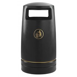 Supporting image for Tuftec Litter Bin - 100L