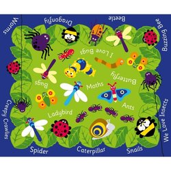 Supporting image for Minibeasts Outdoor Mat