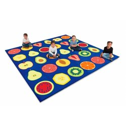 Supporting image for Fruit Placement Large Floor Carpet