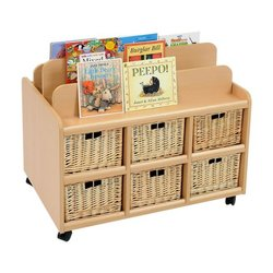 Supporting image for Book Display Unit with Baskets